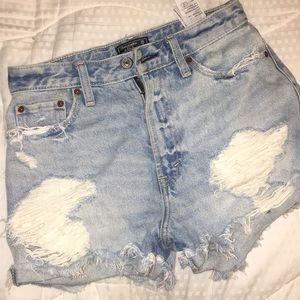 Abercrombie and Fitch jeans shorts